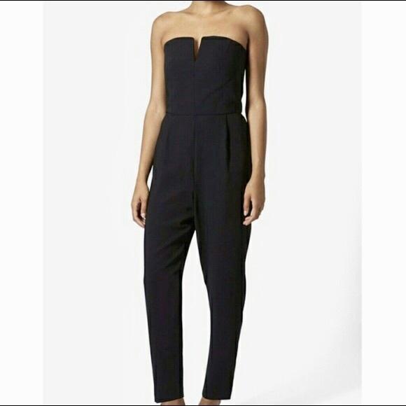 e66784c16ae2 TopShop Black Jumpsuit. M 5b5bc6e25a9d21f8134f48ec